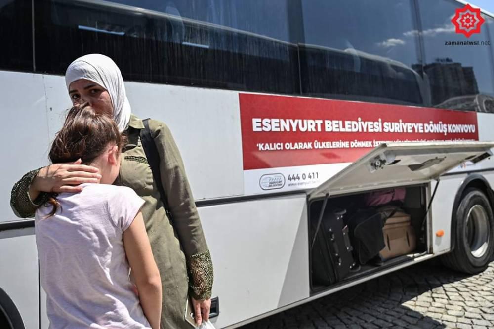 'Gönüllü olarak' Türkiye'den Suriye'ye geri gönderil 3