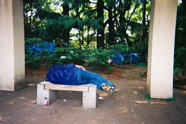 'Medeniyetin' evsizlerle savaşı 18