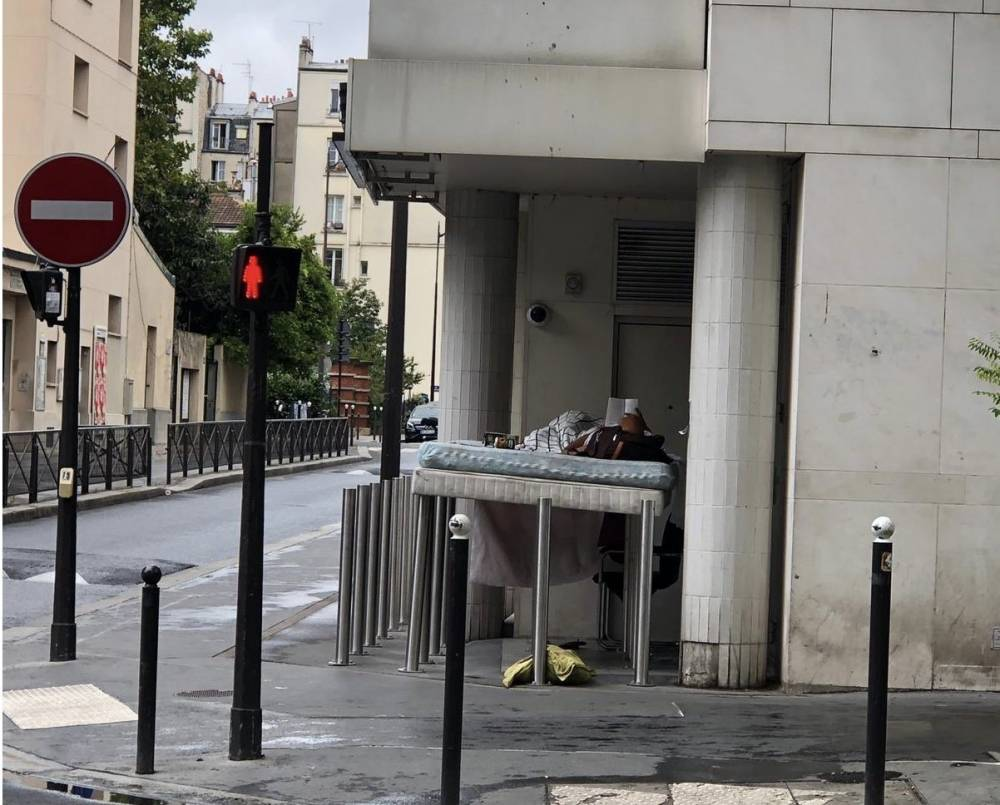 'Medeniyetin' evsizlerle savaşı 6