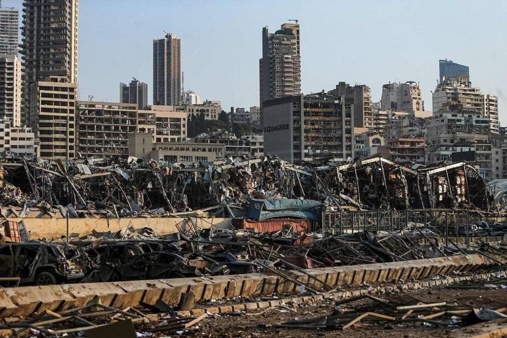 Beyrut'taki patlamanın dehşet verici kareleri 1