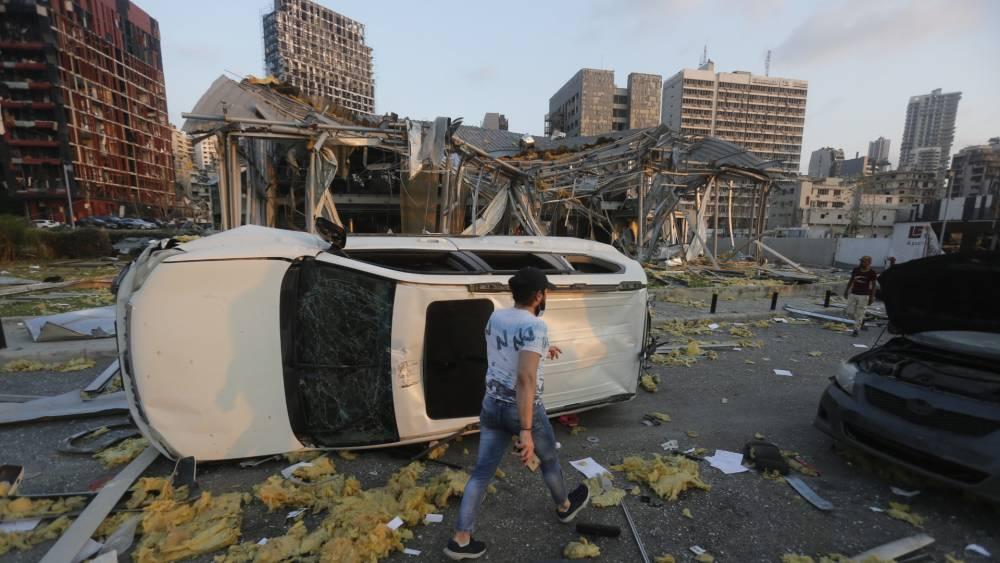 Beyrut'taki patlamanın dehşet verici kareleri 10