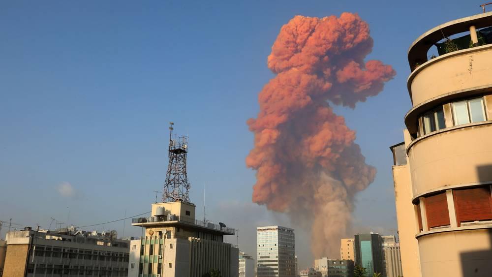 Beyrut'taki patlamanın dehşet verici kareleri 12