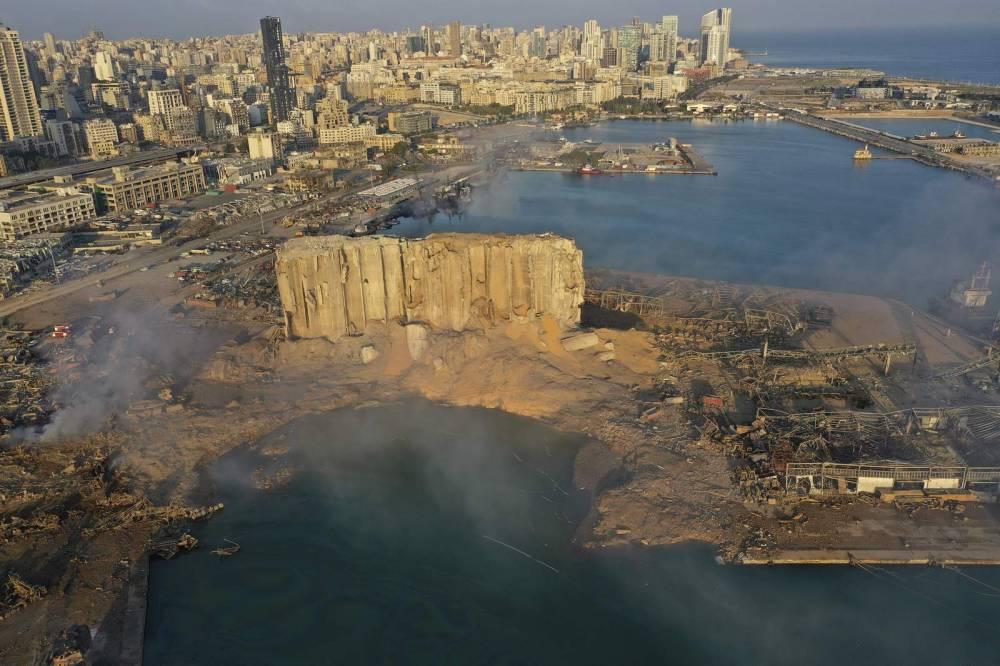 Beyrut'taki patlamanın dehşet verici kareleri 2