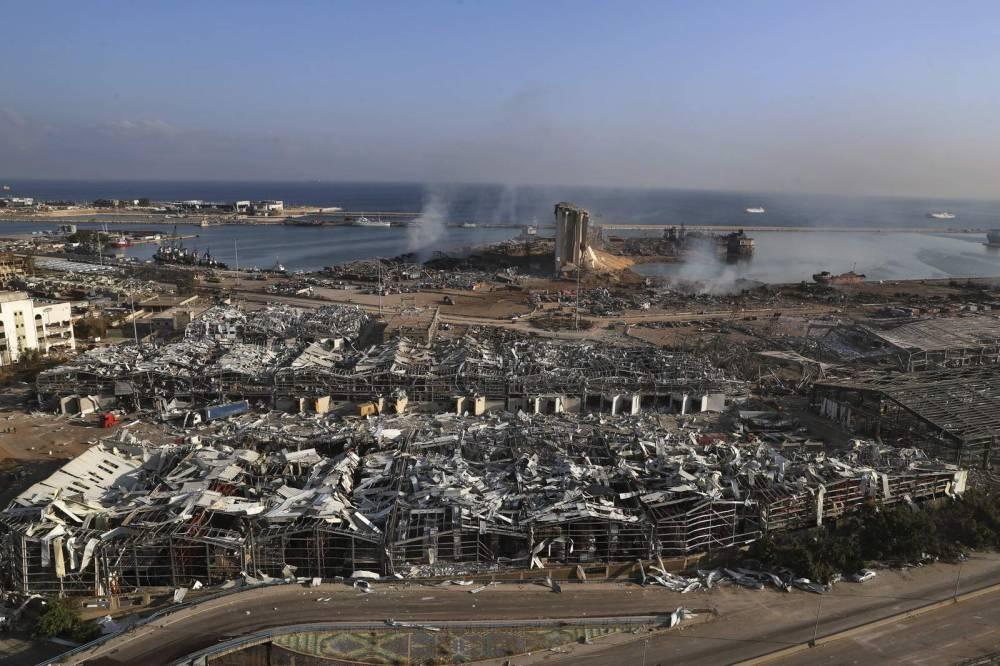 Beyrut'taki patlamanın dehşet verici kareleri 3