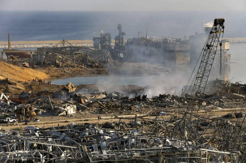 Beyrut'taki patlamanın dehşet verici kareleri 4