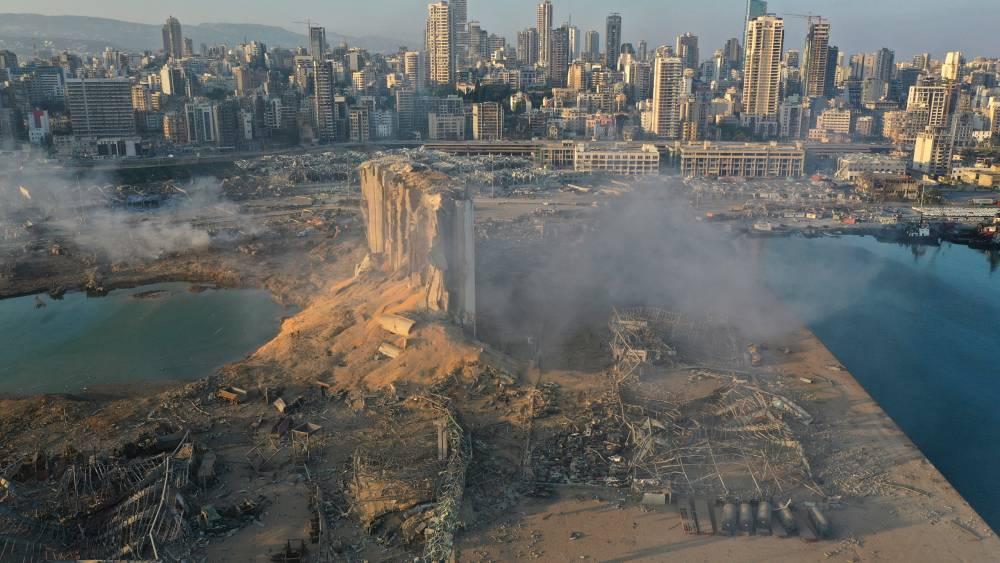 Beyrut'taki patlamanın dehşet verici kareleri 5