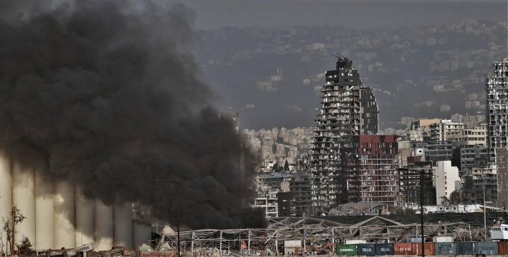 Beyrut'taki patlamanın dehşet verici kareleri 7