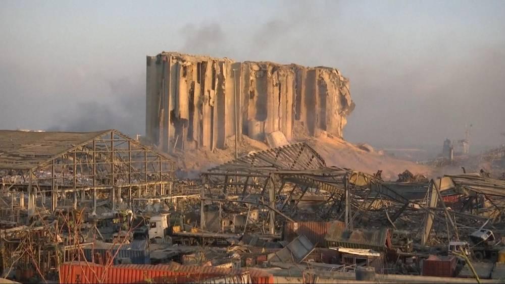Beyrut'taki patlamanın dehşet verici kareleri 9