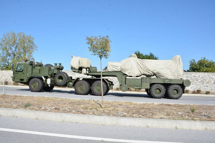 S-400'ler test yolunda 1