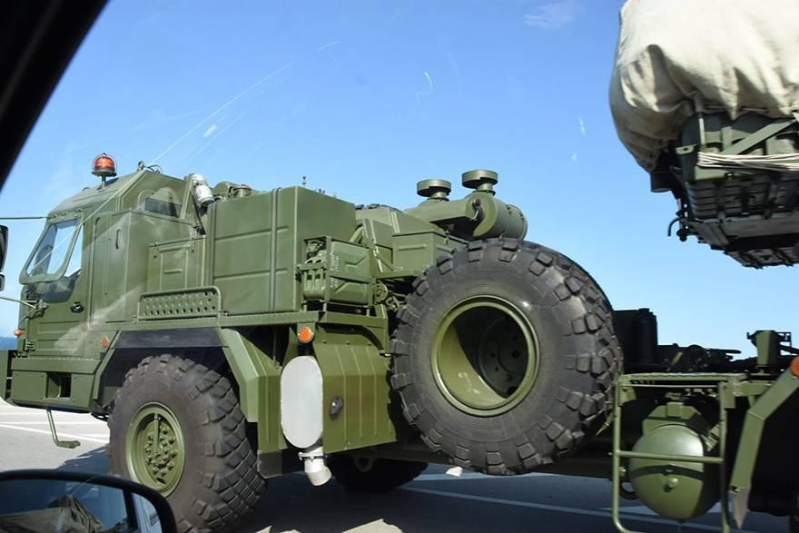 S-400'ler test yolunda 4