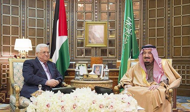 Mahmud Abbas'tan Suudi Arabistan'a sürpriz ziyaret