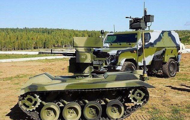 Rusya'nın insansız kamikaze tankı