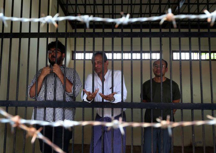 Myanmar'da TRT çalışanlarına hapis cezası