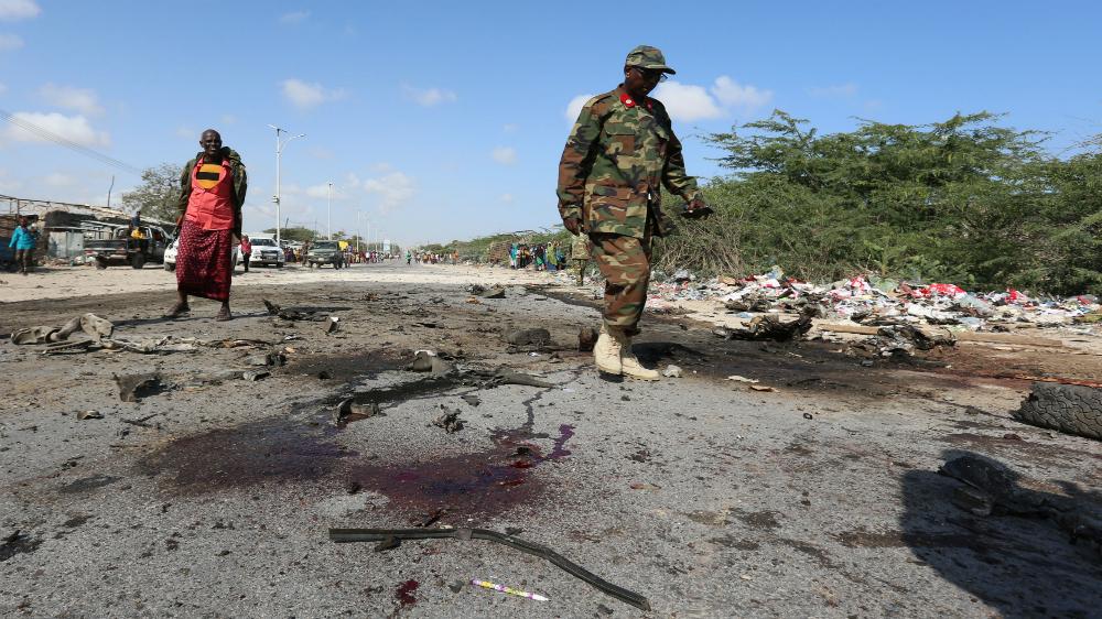 Somali'de ABD güçlerine bir ayda ikinci saldırı
