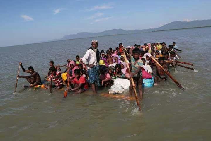 Arakanlılar Bangladeş'e nasıl ulaşıyor?