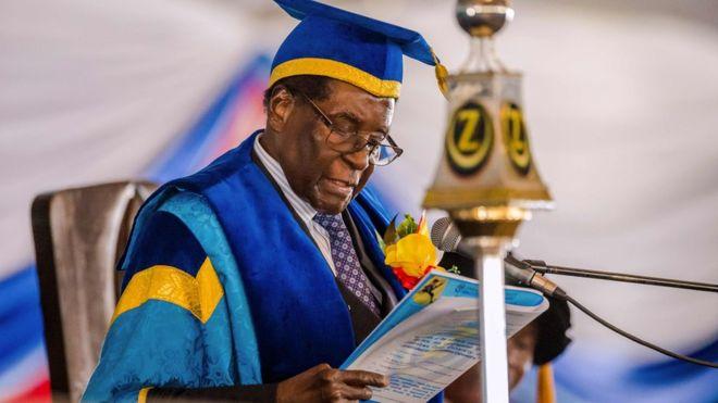Göreve dönmesi söz konusu değil: Mugabe komutanlarla görüşecek