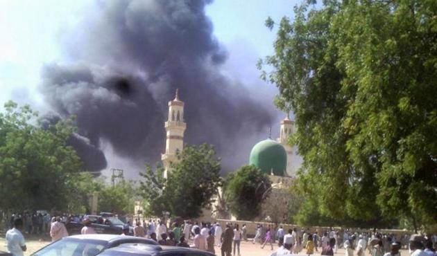 Nijerya'da camiye canlı bomba saldırısı: 30 ölü