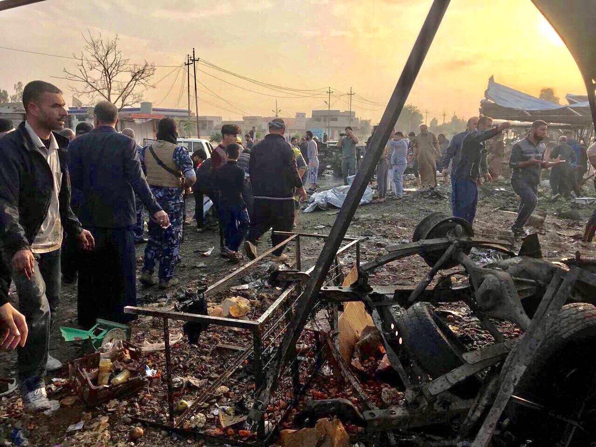 Tuzhurmatu'da bombalı kamyon saldırısı: 20 ölü