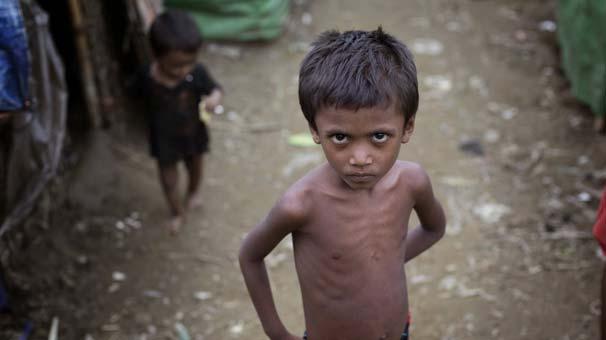 Arakanlı mültecilerin yüzde 60'ı çocuk