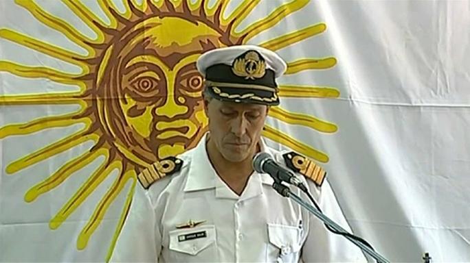 Arjantin'de denizaltı faciası