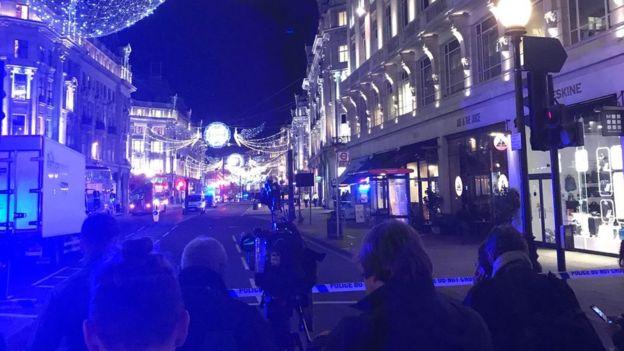 Londra'da 'silahlı saldırı' paniği