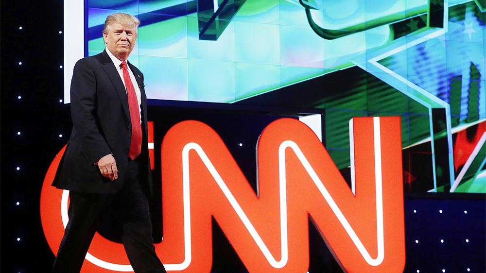 Trump: CNN önemli bir yalan kaynağı
