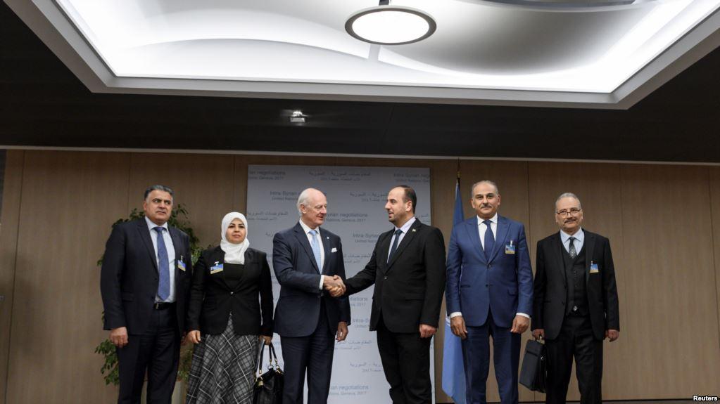 Cenevre görüşmeleri başladı: Rejim Esed'in geleceğini tartışmayacak