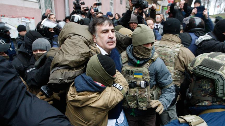 İntihara kalkışan eski cumhurbaşkanı gözaltına alındı