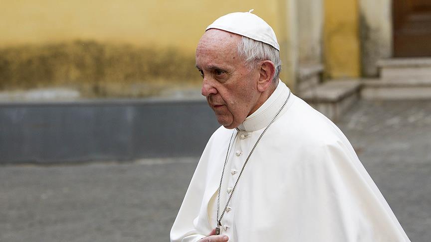Papa, ABD'nin Kudüs planından endişeli