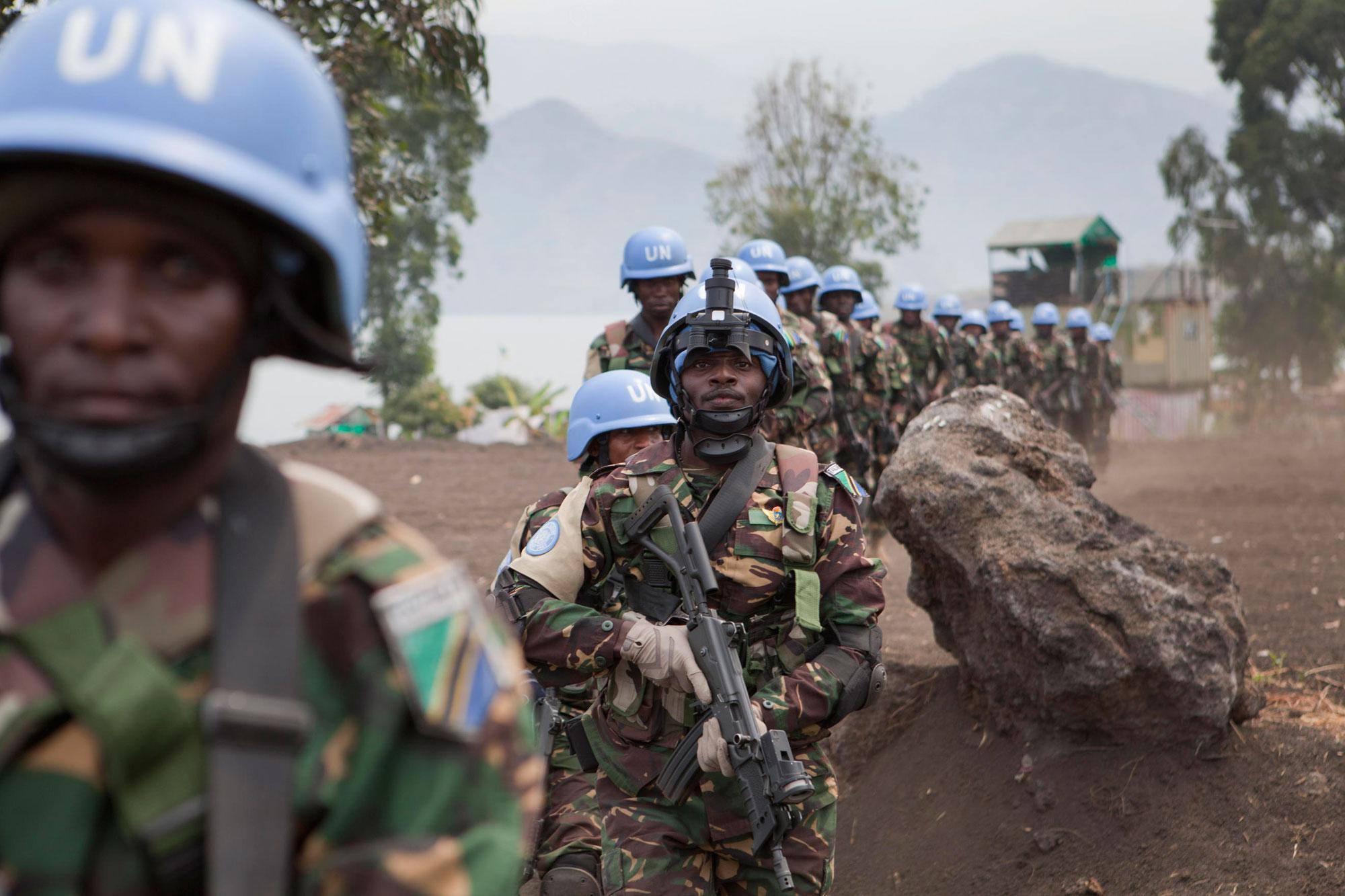 Kongo'da 12 BM askeri öldürüldü
