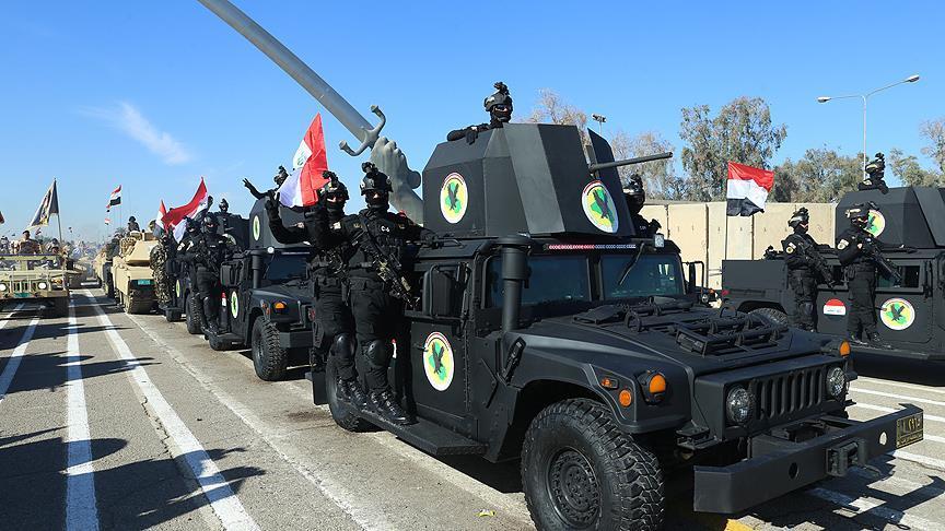 Bağdat'ta 'IŞİD zaferi' için askeri tören