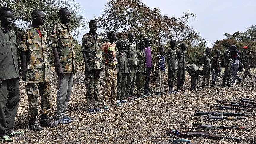 'Güney Sudan'da 19 bin çocuk silah altına alındı'