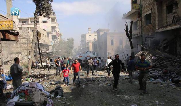 İdlib'de aynı aileden 10 kişi öldü