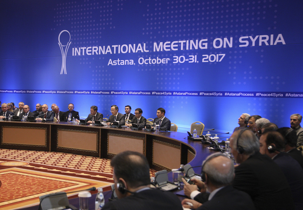 Astana'nın yeni gündemi PYD olacak