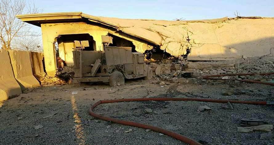 Taliban polis merkezine bomba yüklü araçla girdi