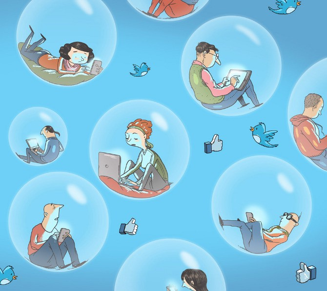 Twitter'da politik söylemler 'öteki mahalle'ye ulaşmıyor