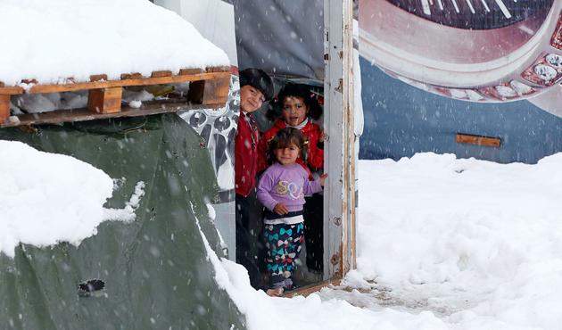 Suriyeli mültecilerin kış endişesi