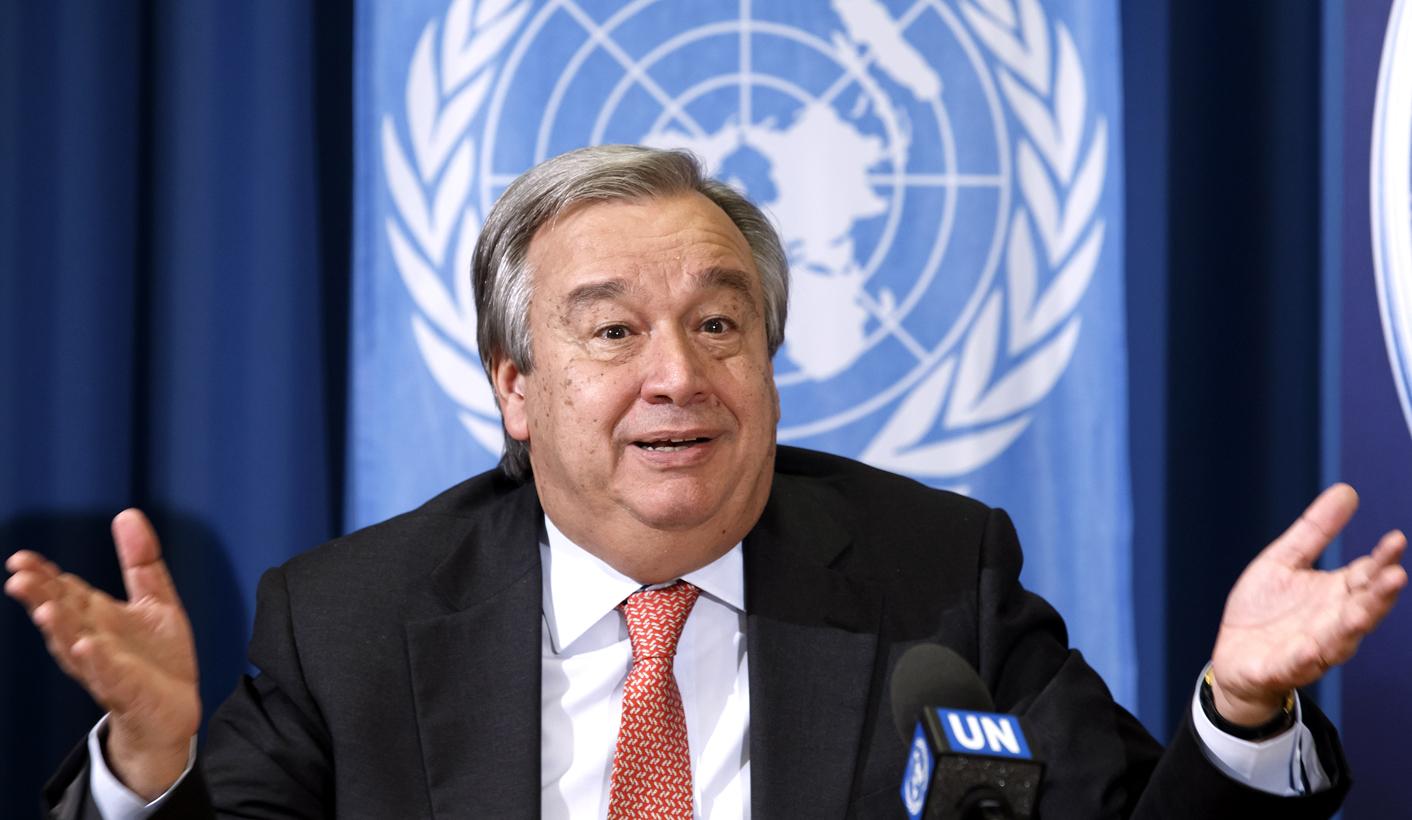 Guterres: Dünyamız için kırmızı alarm veriyorum