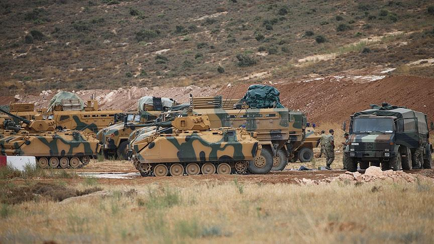 Suriye'de TSK konvoyuna roketli saldırı