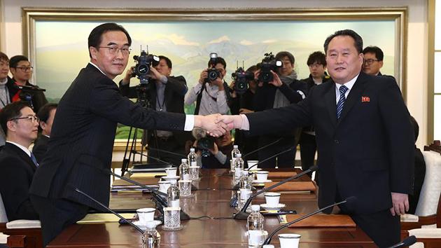 Güney KoreileKuzey Kore,tekrar diyalog masasında