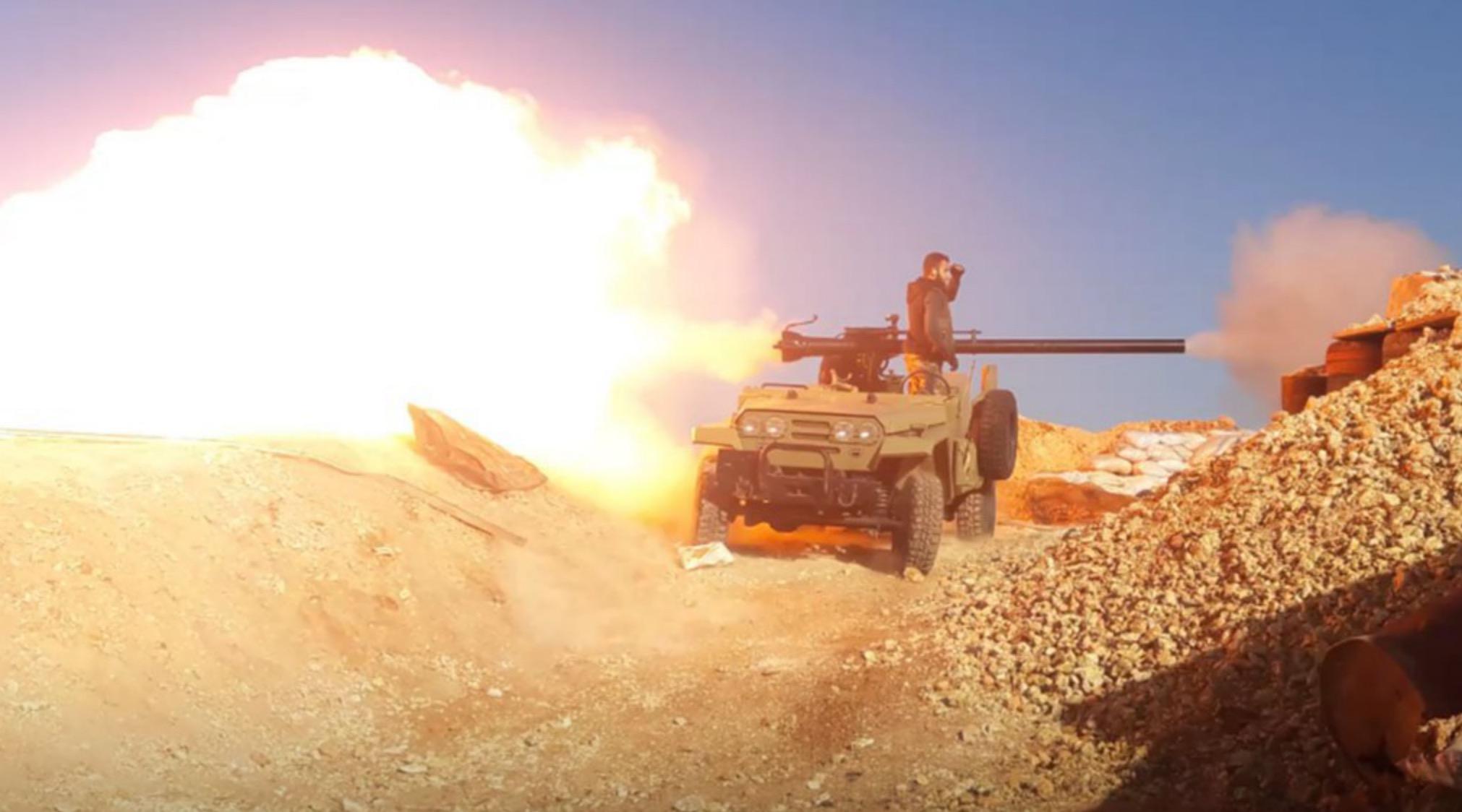 Rusya destekli Esed rejimi İdlib'e saldırı başlattı