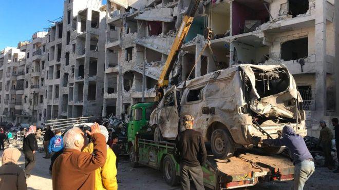 İdlib'deki gelişmeler Rusya ve İran'ın ateşkesi sabotesi
