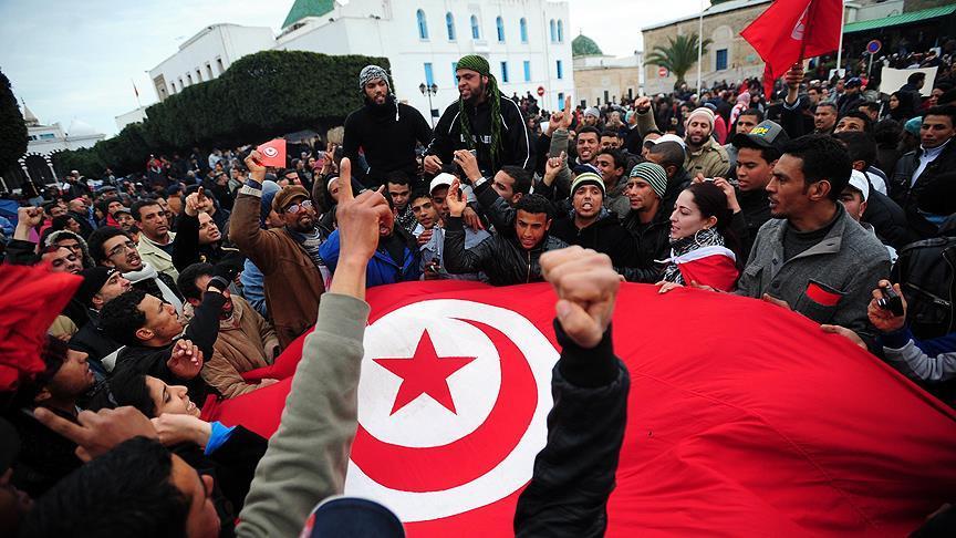 Yedinci yıl dönümünde 'Tunus devrimi'