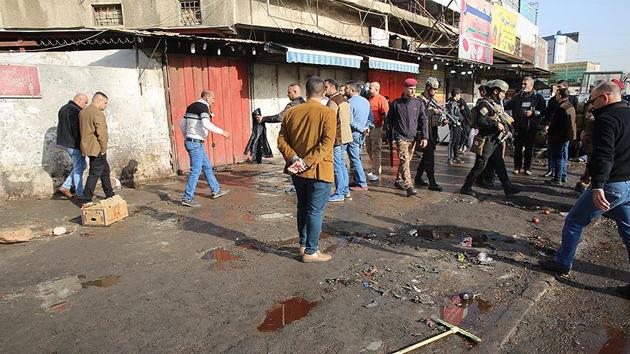 Bağdat'ta düzenlenen bombalı saldırılarda 25 ölü, 90 yaralı