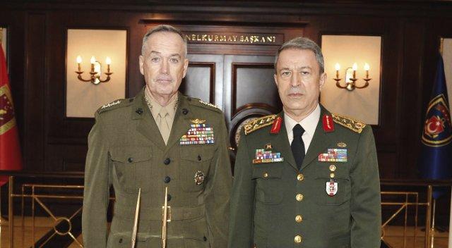 ABD Genelkurmay Başkanı Apar Topar Türkiye'ye Geliyor