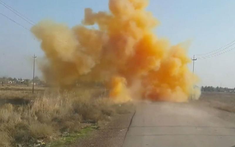 İdlib'de Klor Gazı Saldırısı