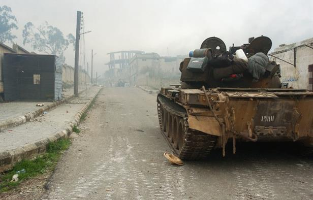 Muhaliflerden Humus Kuzeyinde Operasyon