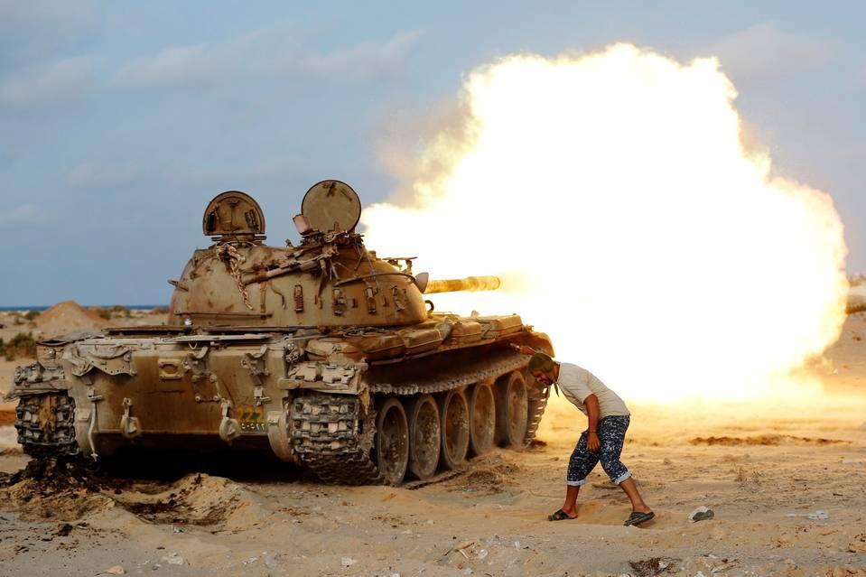 IŞİD Libya'da Geriliyor