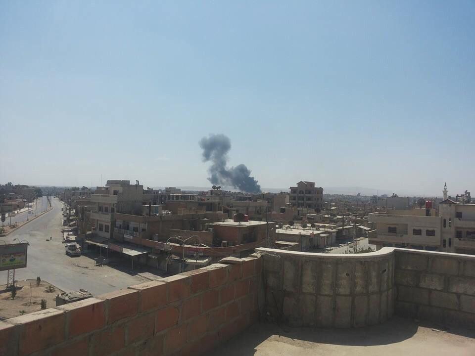 Suriye Rejimine Ait Uçaklar Haseke'yi Bombaladı