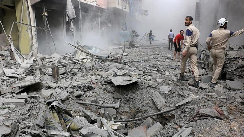 BM Halep'te 48 Saatlik Ateşkes İlan Edilmesini İstedi